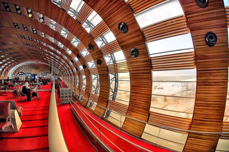 Аэропорт Шарль де Голль / изображение с сайта trover.com
