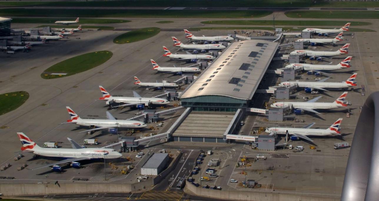 Аэропорт Хитроу / изображение с сайта regnum.ru