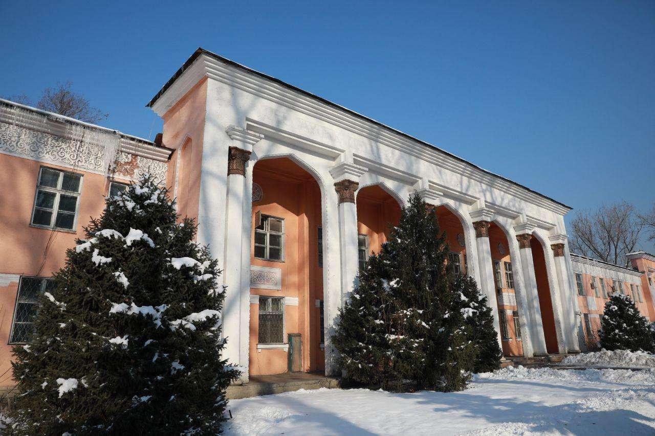 Бывшая больница Турксиб