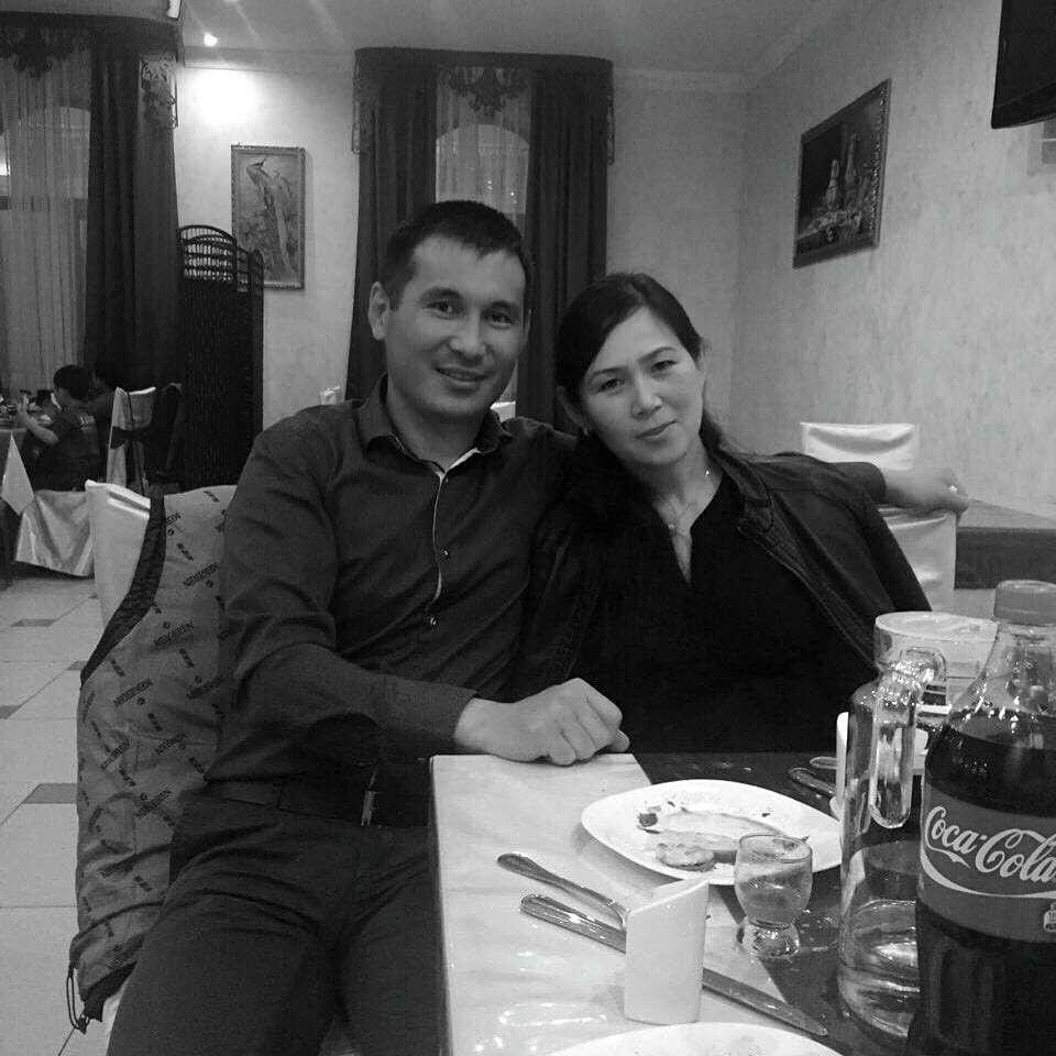 Абай Нурбеков с супругой