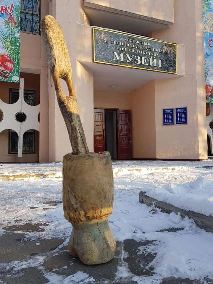 Талдықорғандағы тарихи-өлкетану музейіне әкелінген келі-келсап