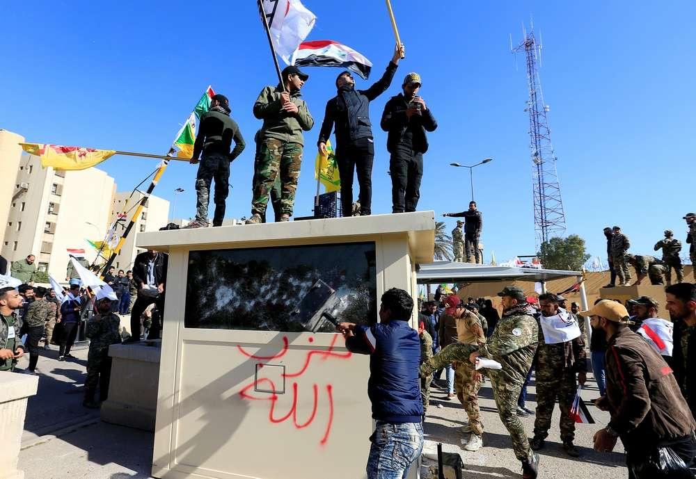 Из посольства эвакуировали сотрудников