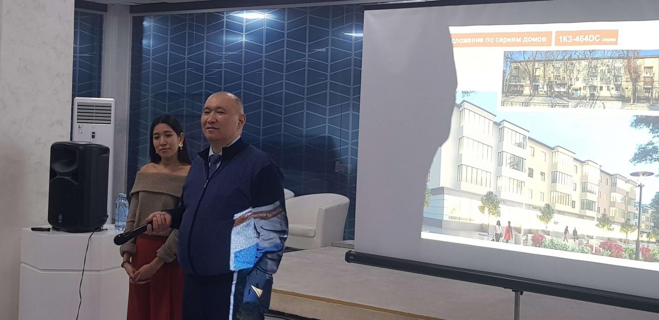 Руководитель управление городского планирования и урбанистики Алматы Алмасхан Ахмеджанов.