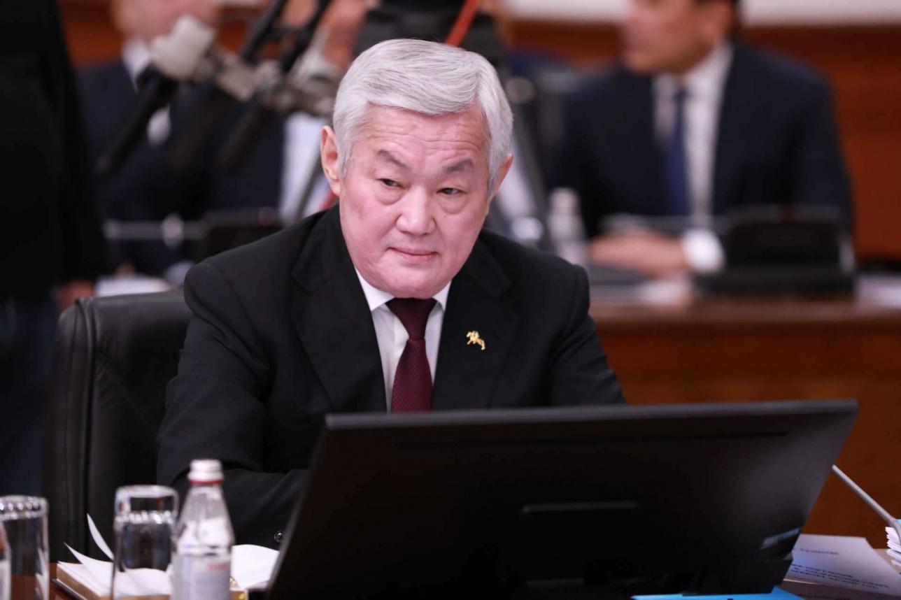 Заместитель премьер-министра РК Бердыбек Сапарбаев