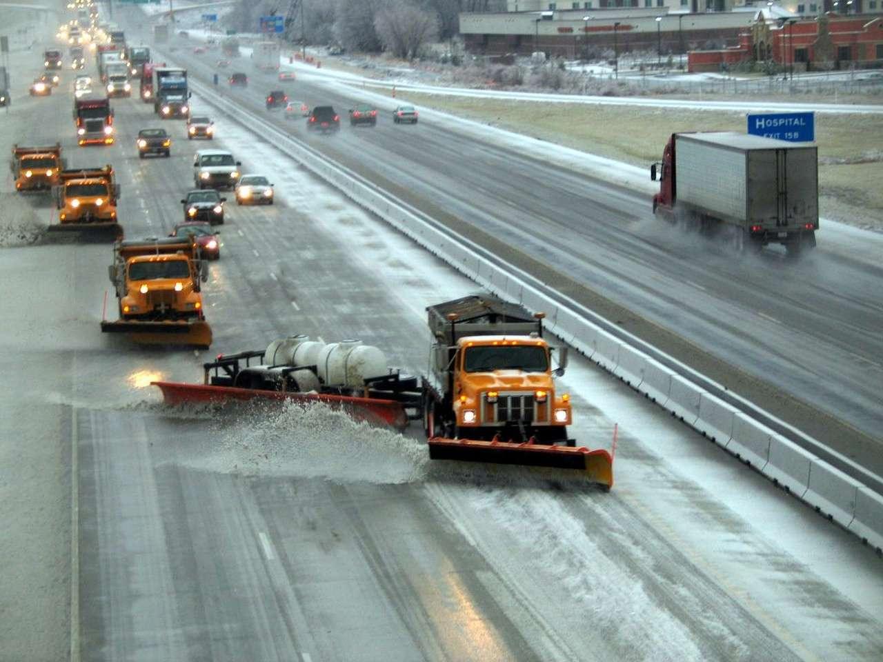 Снегоуборочные машины в США