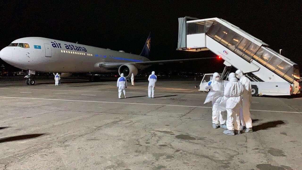 В Алматы прибыл рейс из Китая