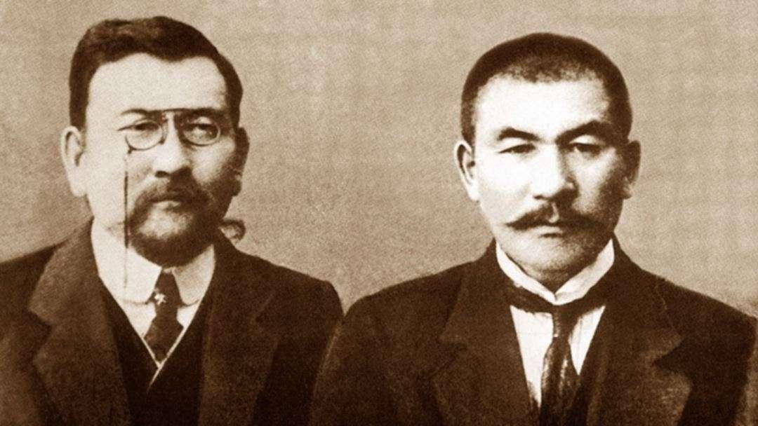 Ахмет Байтурсынов и Алихан Букейханов