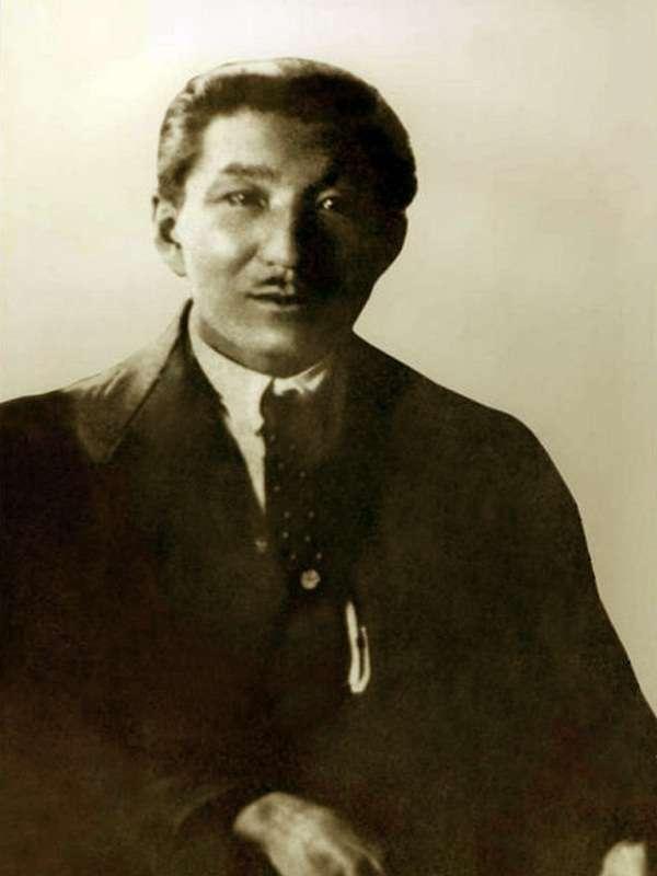 Жаханша Досмухамедов, фото 1920 года