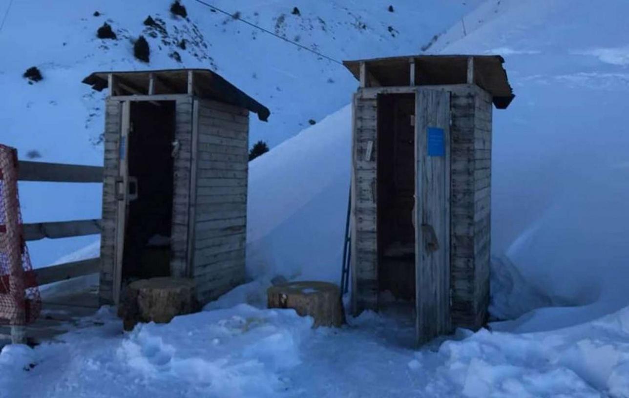 Туалет Шымбулак