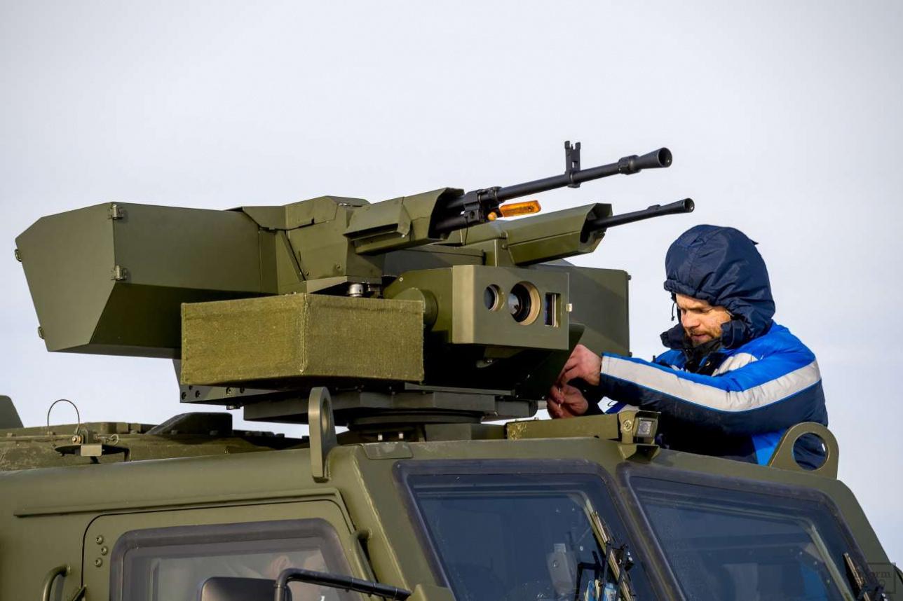 """Оружейный комплекс БКМ """"Арлан"""" готовят к стрельбе"""