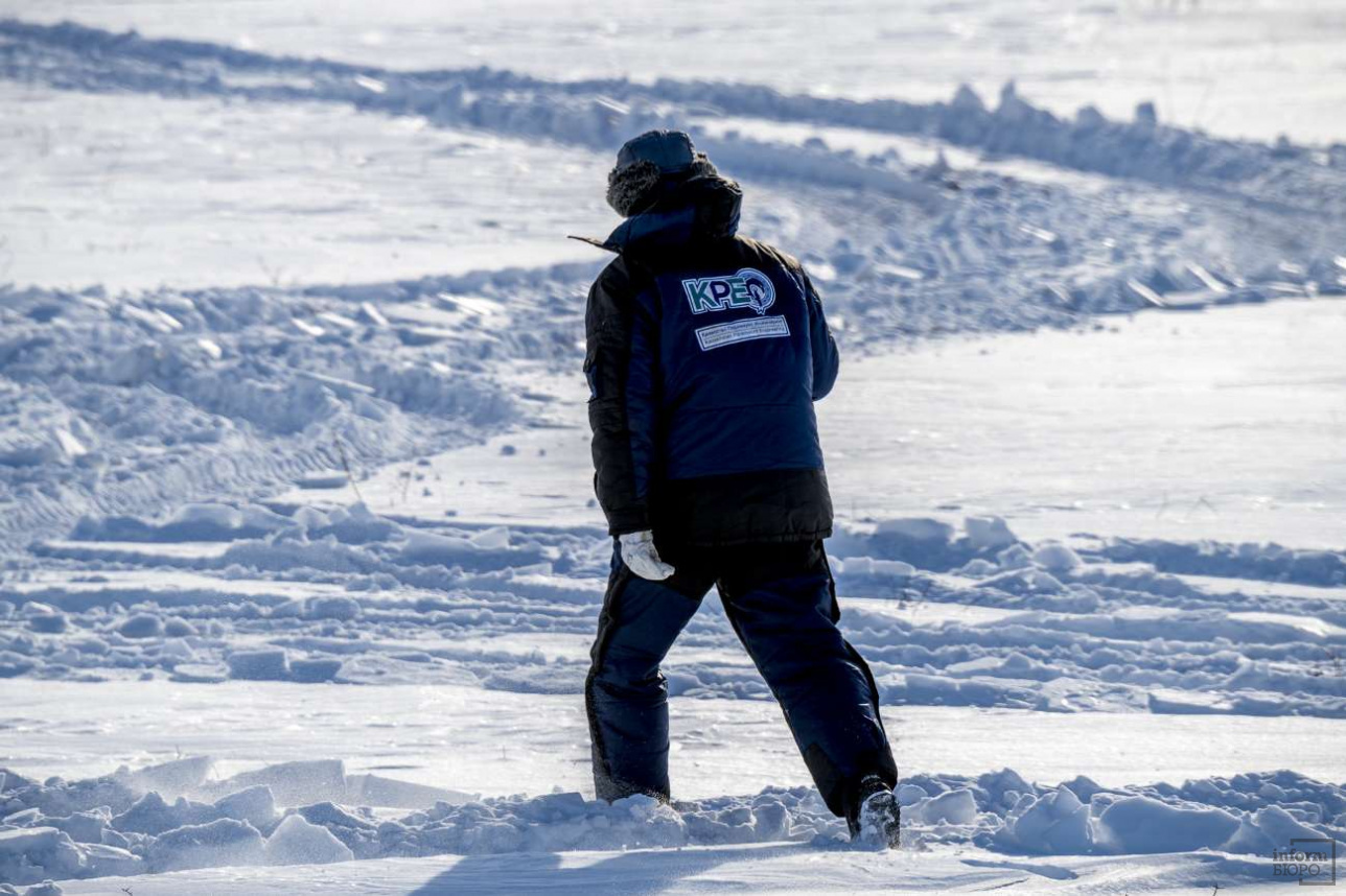 После прибытия на полигон специалисты KPE выбирают огневую позицию и расставляют мишени
