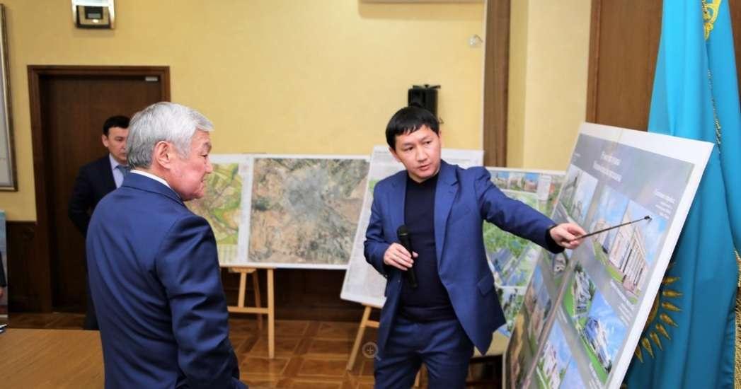 Бердибек Сапарбаев поддержал идею возведения дворца школьников, разбивки парков и скверов, строительства пешеходных зон и велосипедных дорожек, реконструкции Майской рощи