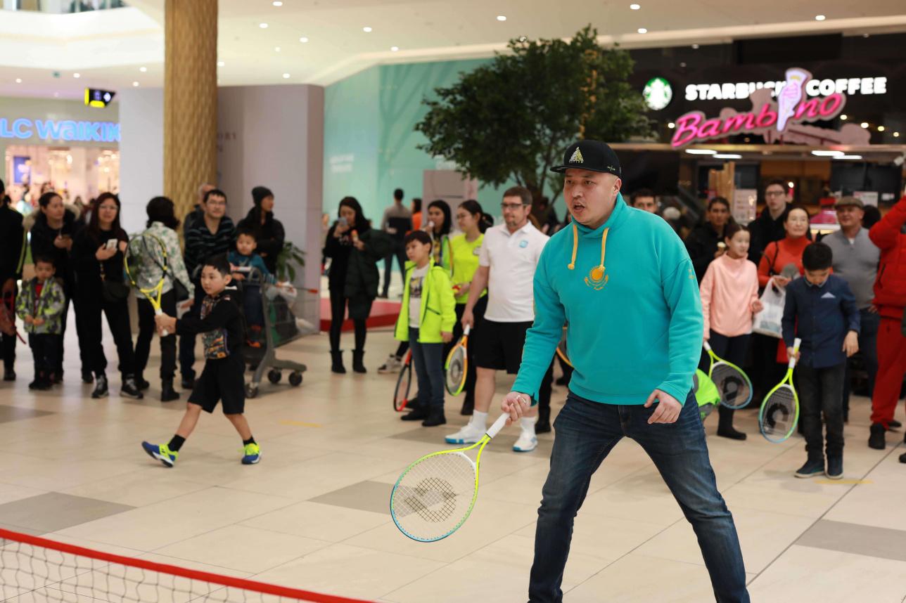 Председатель фан-клуба сборной Казахстана по теннису Ерлан Бекешев