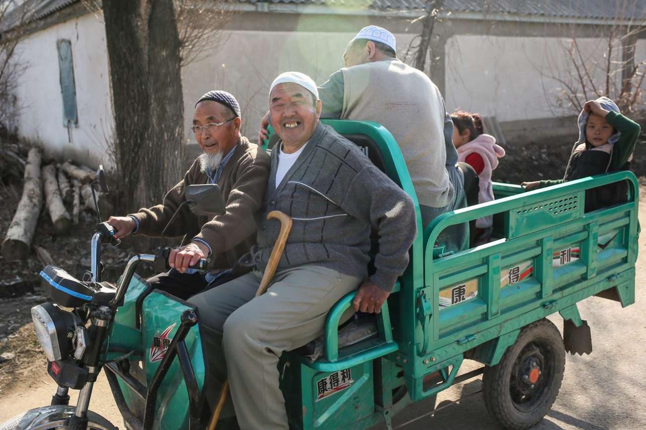 Местные жители села Масанчи