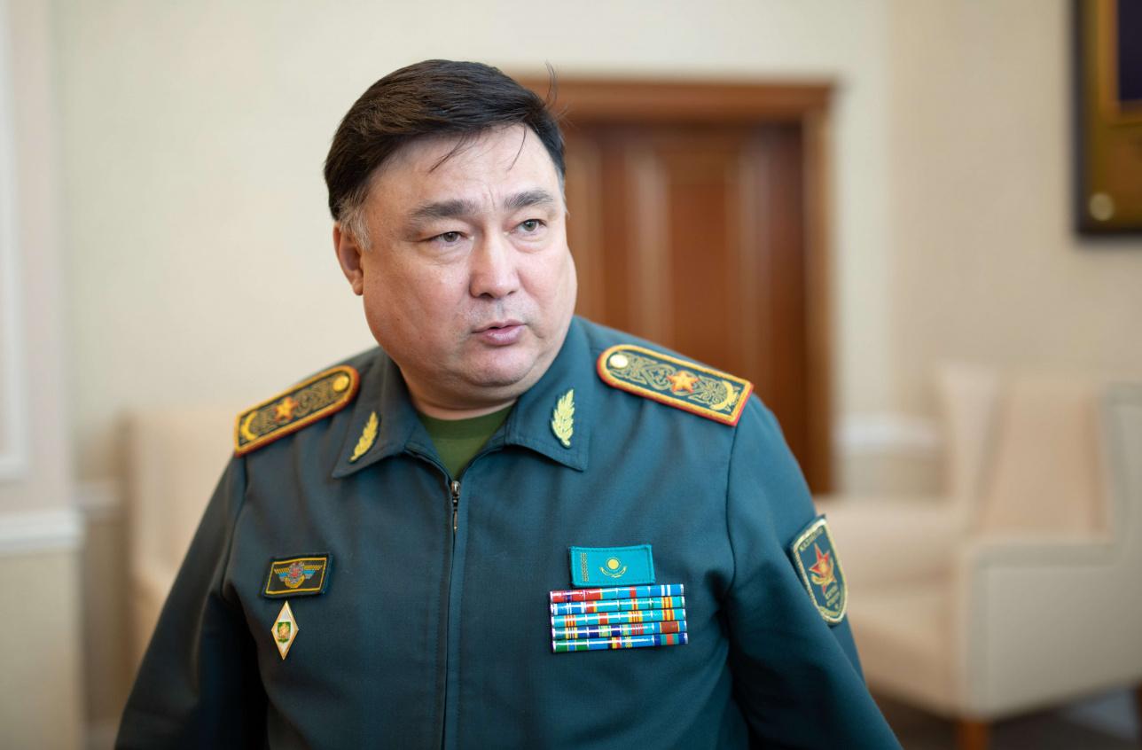 Заместитель министра обороны Казахстана Тимур Дандыбаев