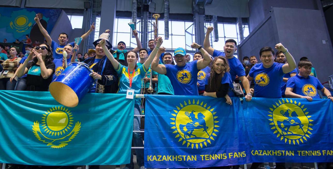 Радость казахстанских болельщиков