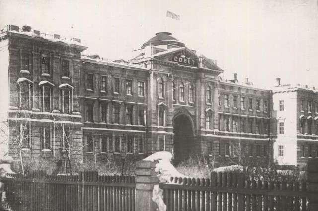Здание Сибревкома в Омске