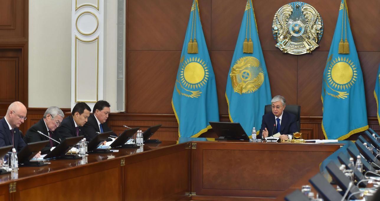 Расширенное заседание Правительства с участие президента