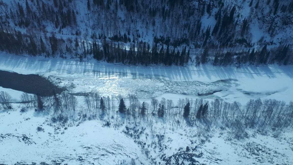 Снегозапасы в ВКО
