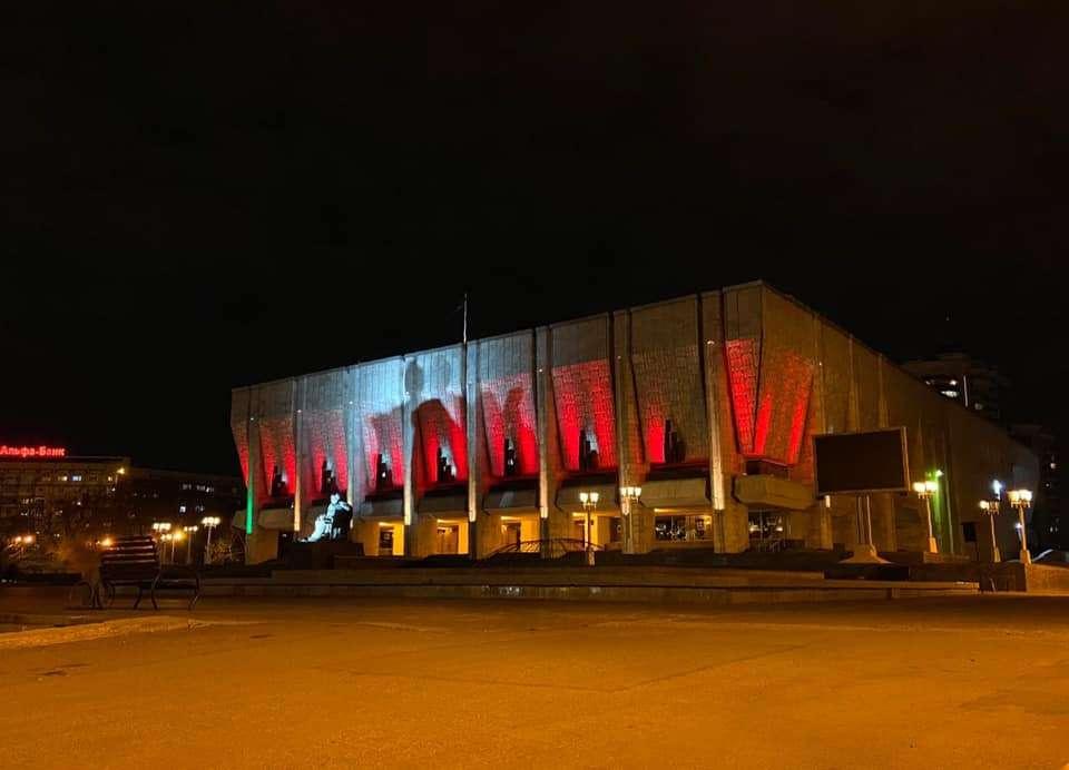 Театр имени Мухтара Ауэзова в Алматы