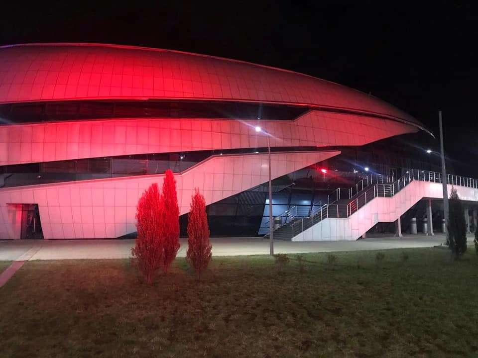 Ледовый дворец Halyk Arena в Алматы