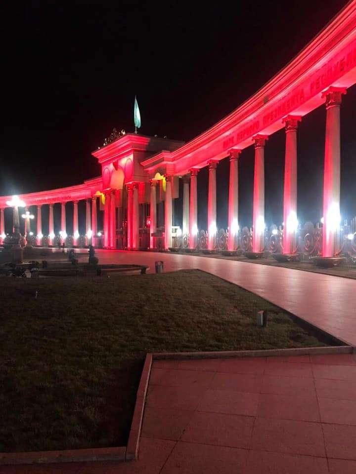 Парк Первого Президента в Алматы