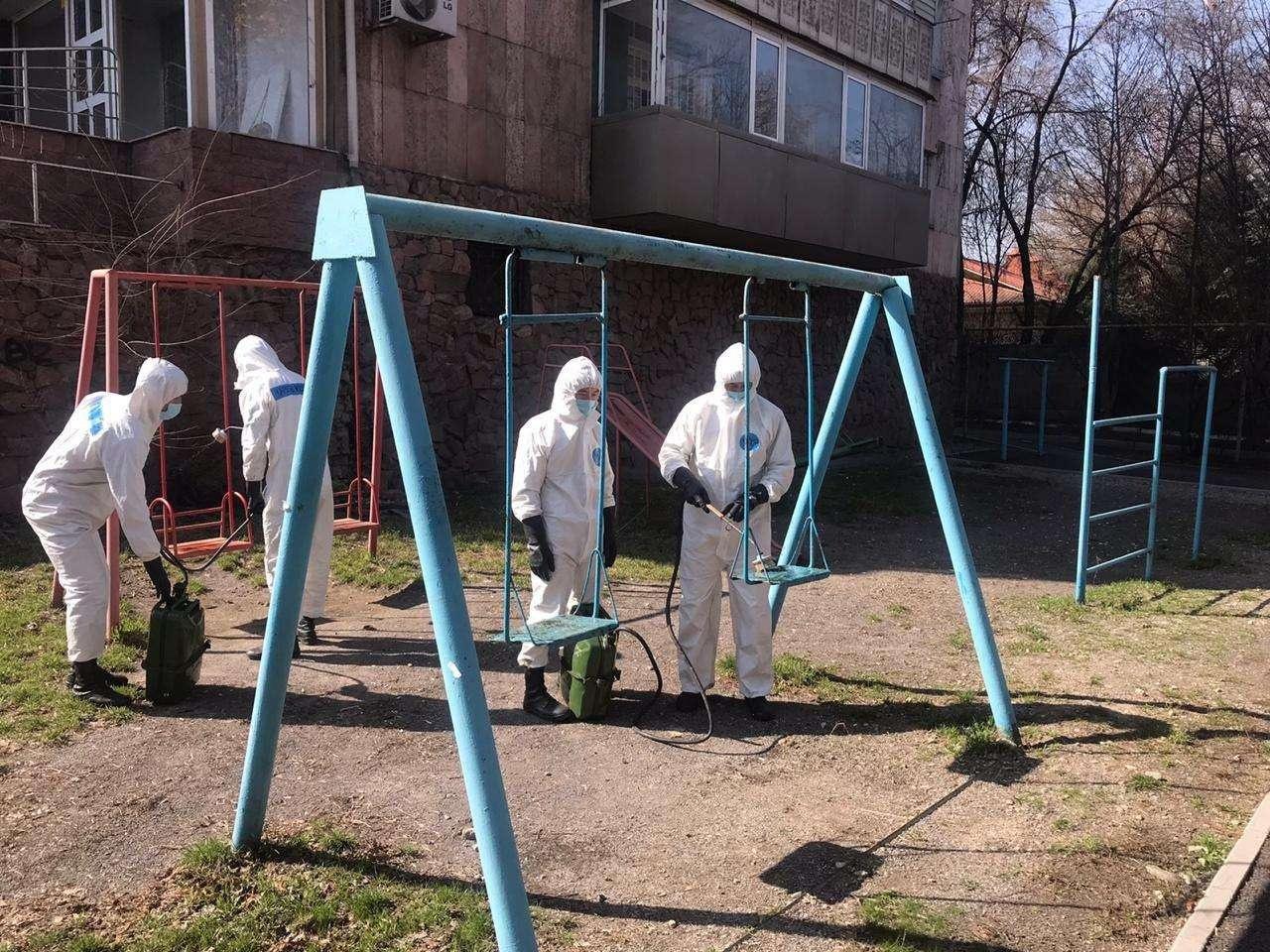 Обработка детских площадок