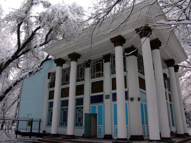 Пример архитектуры Алматы 50-х годов