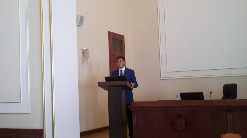 Новый аким Шымкента Габидулла Абдрахимов