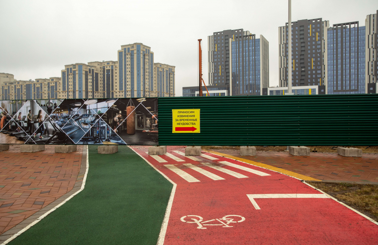 Строительство спорткомплекса на территории Ботанического сада