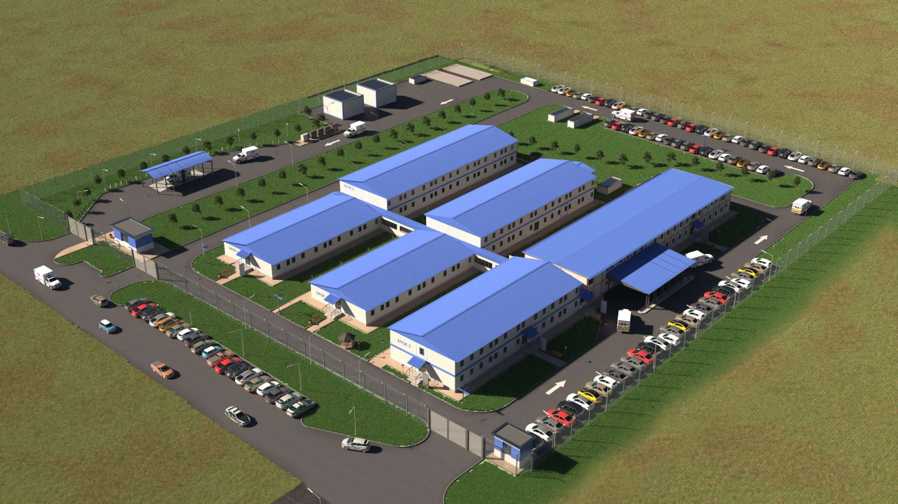 Как будет выглядеть больничный комплекс из шести блоков