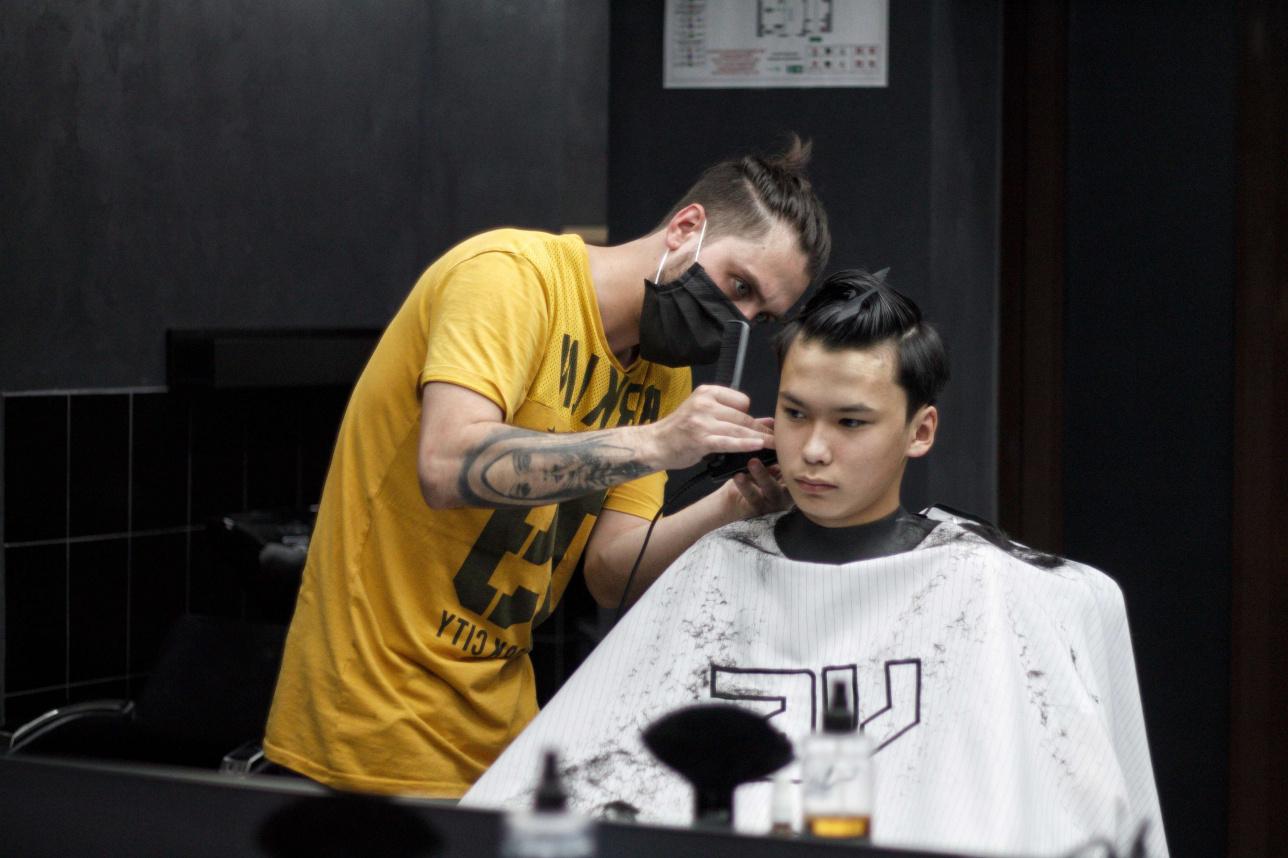 Мужские мастера в Barber shop