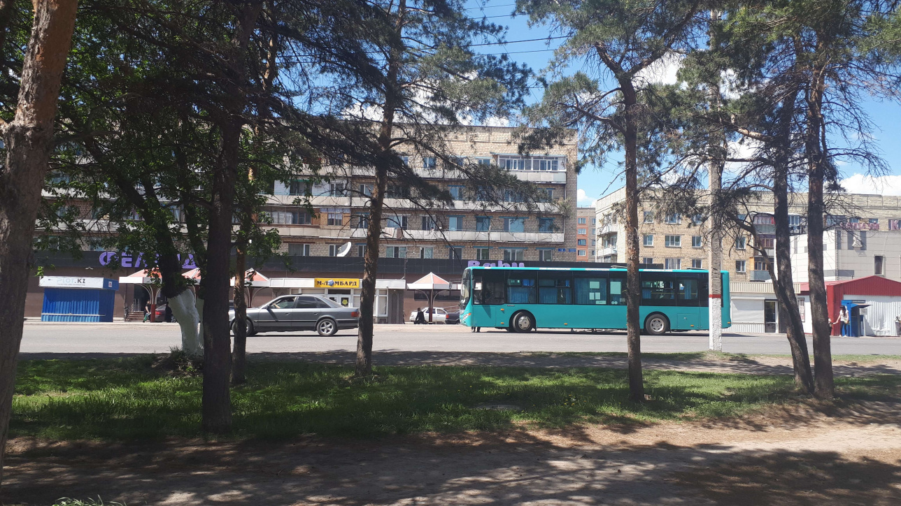 Караганде разрешено движение общественного транспорта