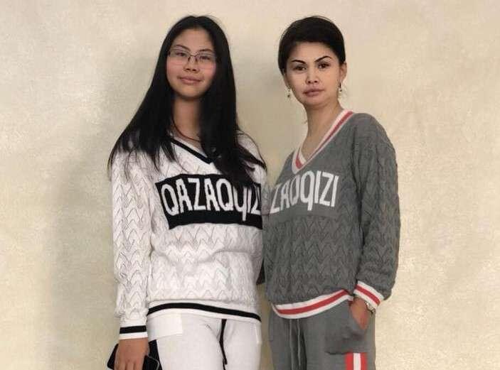 Аида Балаева с дочерью