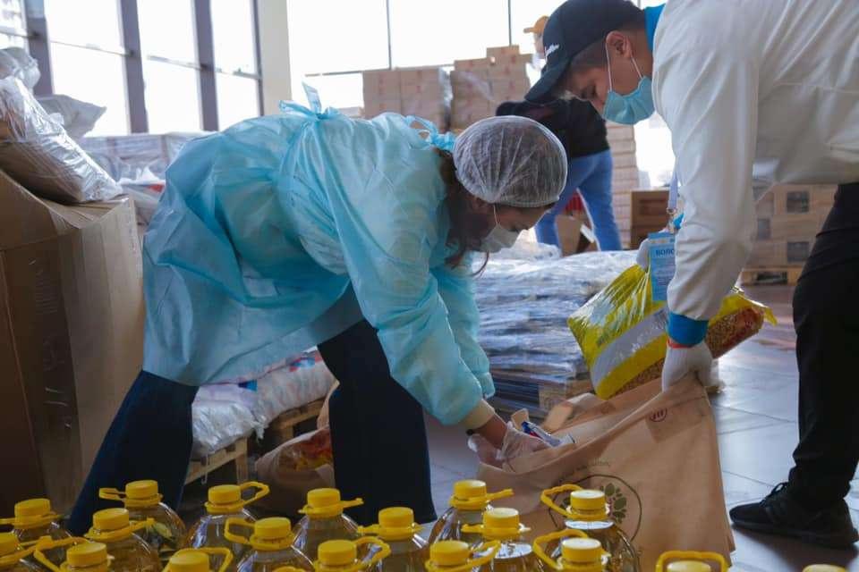 Аида Балаева во время режима ЧП помогала волонтёрам