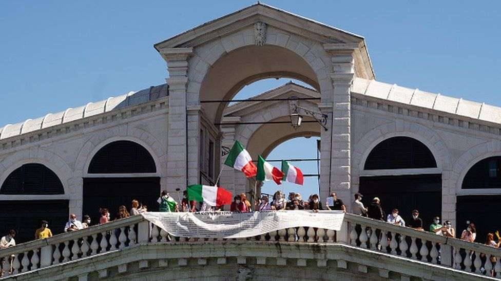Забастовка в Италии