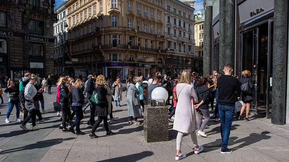 В минувшие выходные жители Вены осаждали выходные