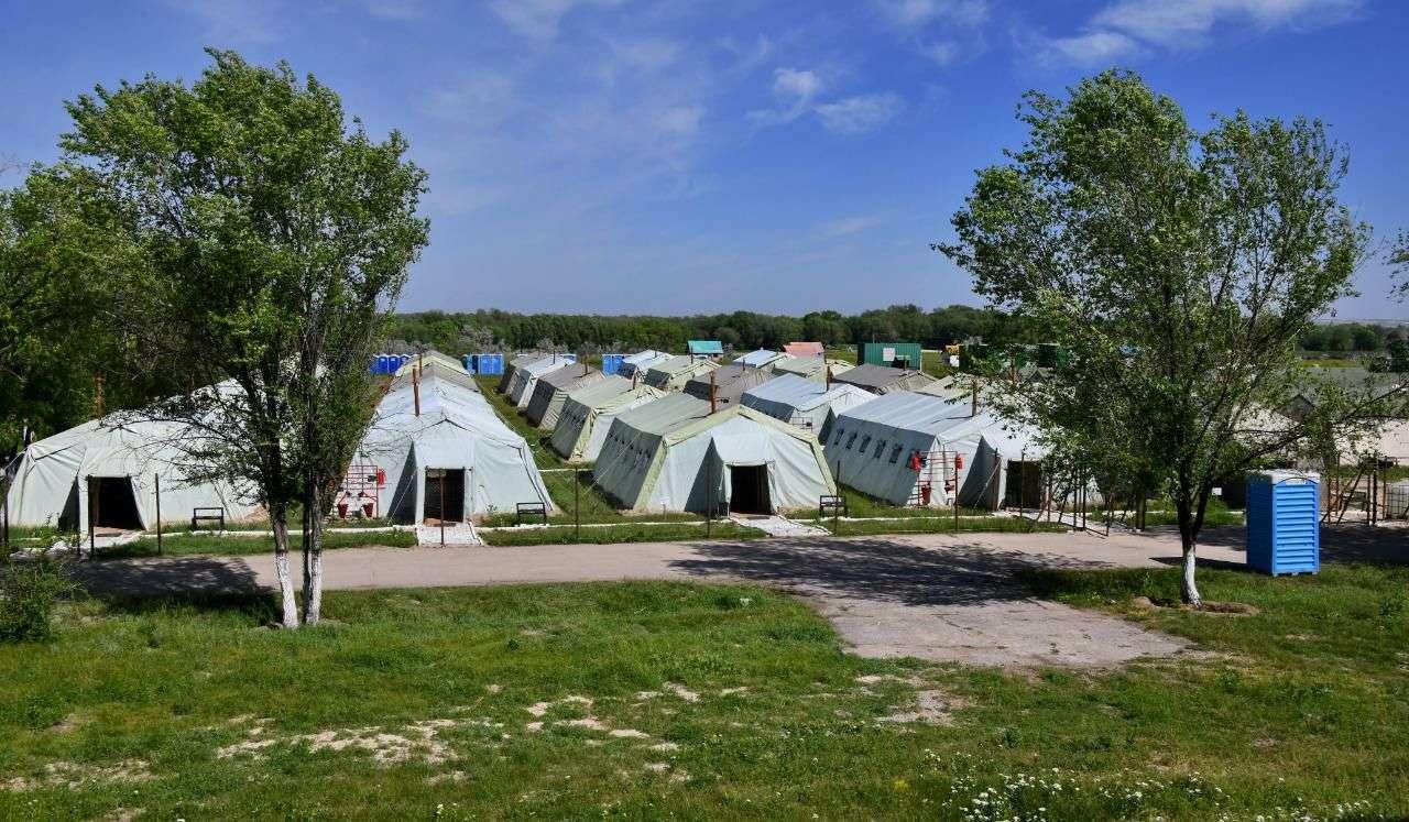 Алматыдағы далалық госпиталь