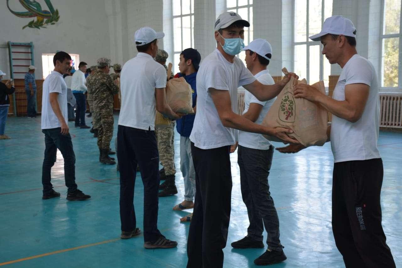 Фото предоставлено пресс-службой акима Туркестанской области