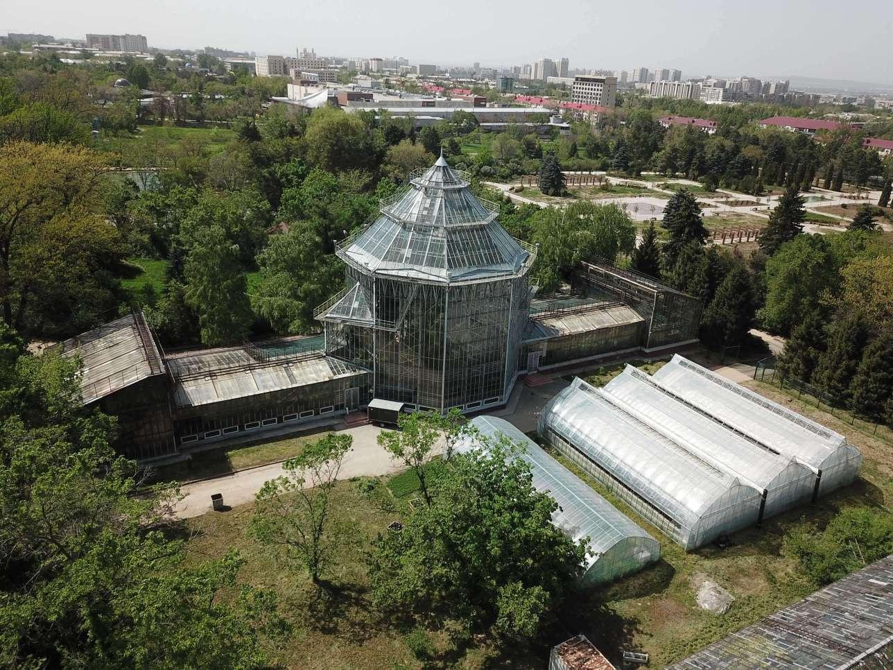Ботанический сад после реконструкции