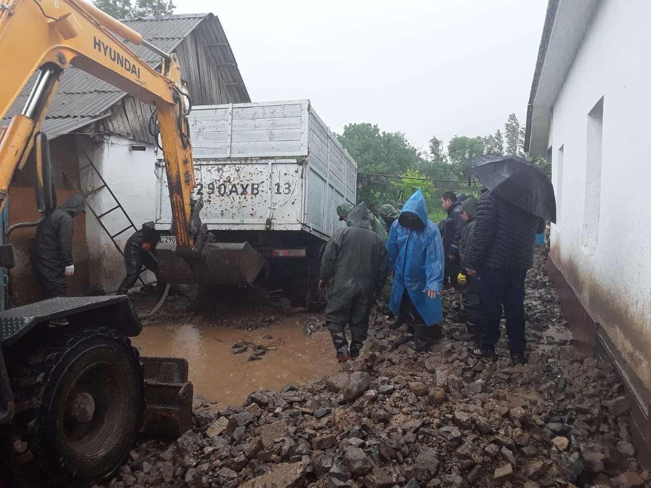 В Шымкенте затопило 38 жилых домов и 63 дворовых участков