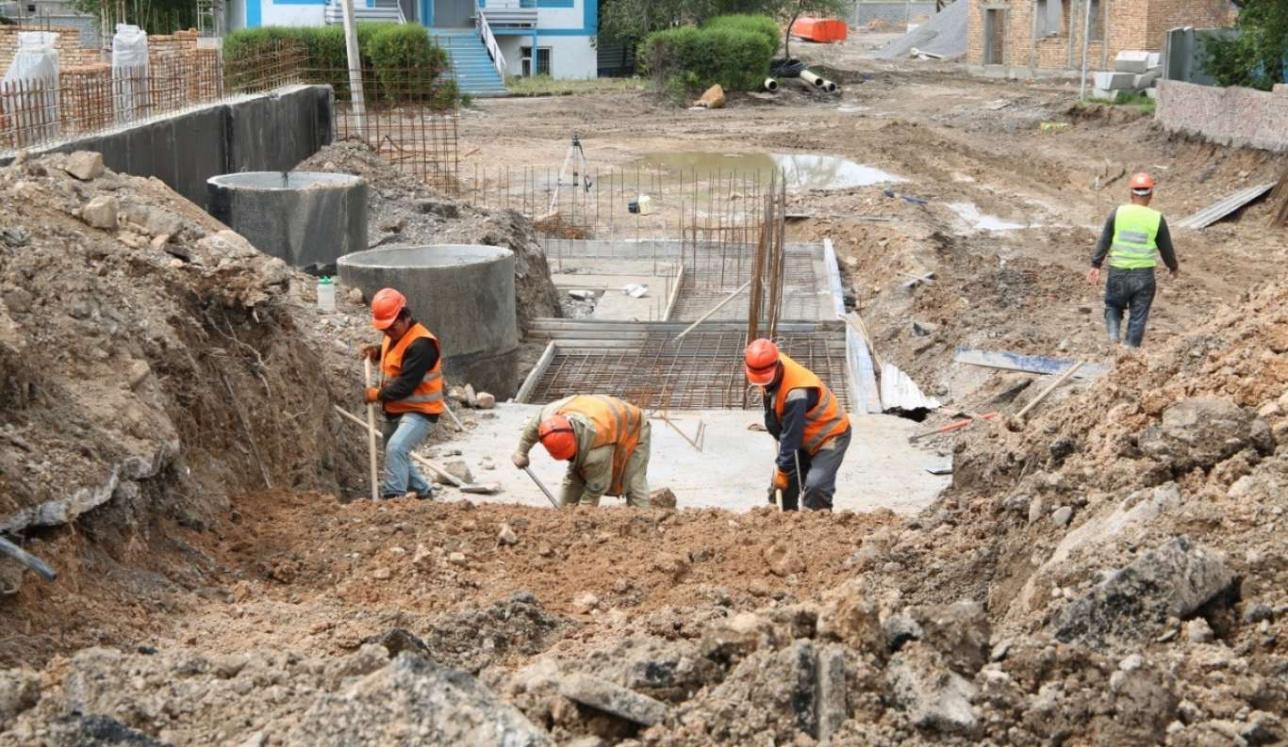 В Масанчи начали восстанавливать жилые дома