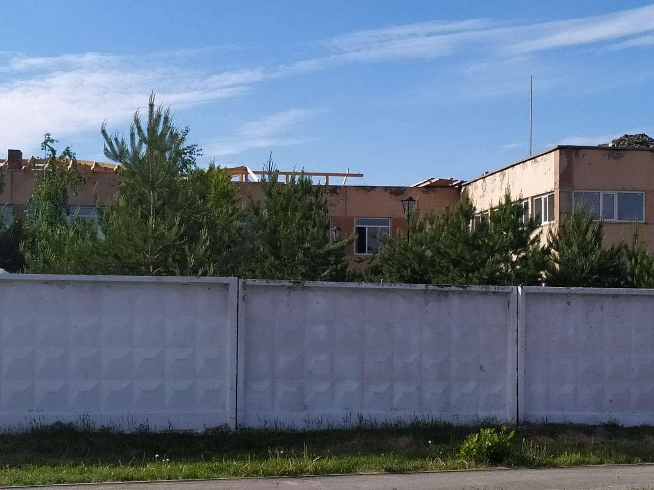 Главный корпус Костанайского детского центра оказания специальных социальных услуг
