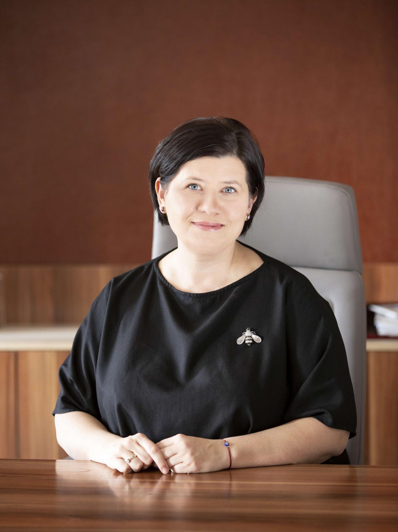 Генеральный директор 31 канала Екатерина Кочева