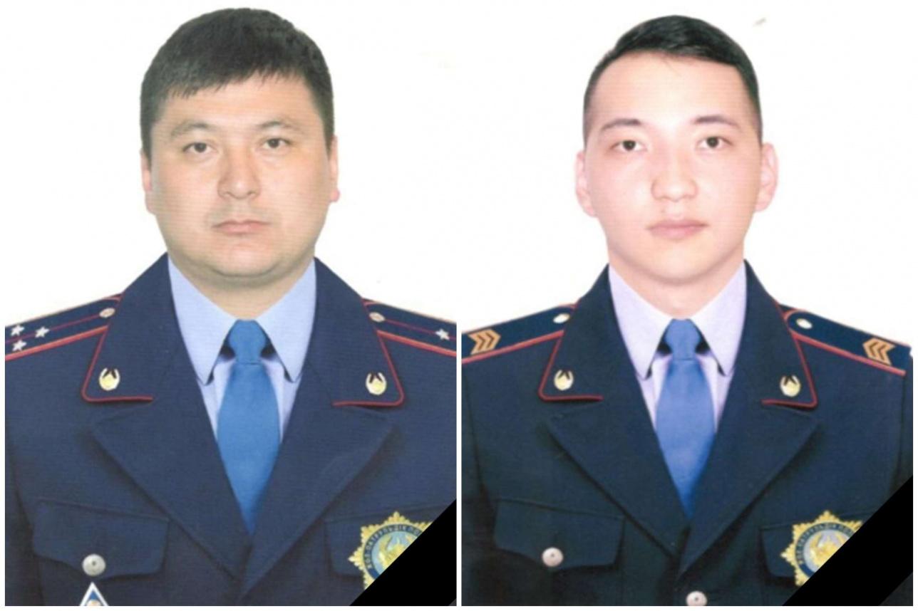 Жалгас Жангазиев и Дастан Абдыканов
