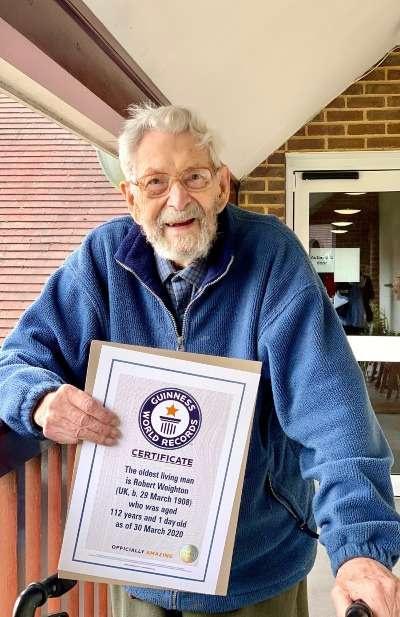 Самый старый мужчина в мире Боб Уэйтон