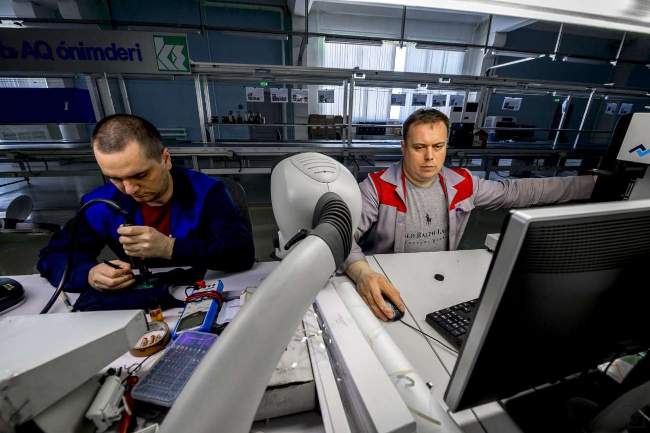 В перспективе завод планирует расширять штат сотрудников