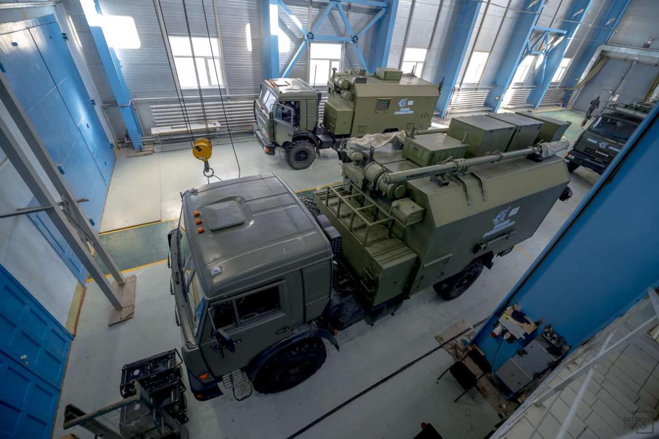 Мобильные системы связи для Министерства обороны