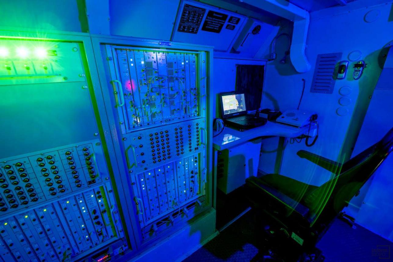 """Цифровая начинка тропосферной радиорелейной станции """"Ак Кайын"""""""