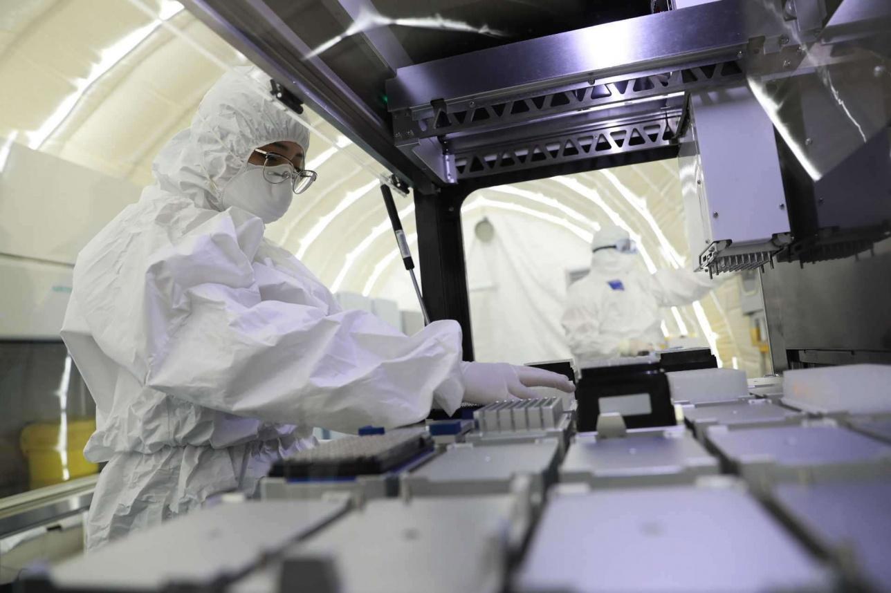 Лаборатория для ПЦР-скрининга в Нур-Султане